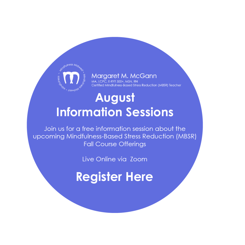 August Information Sessions